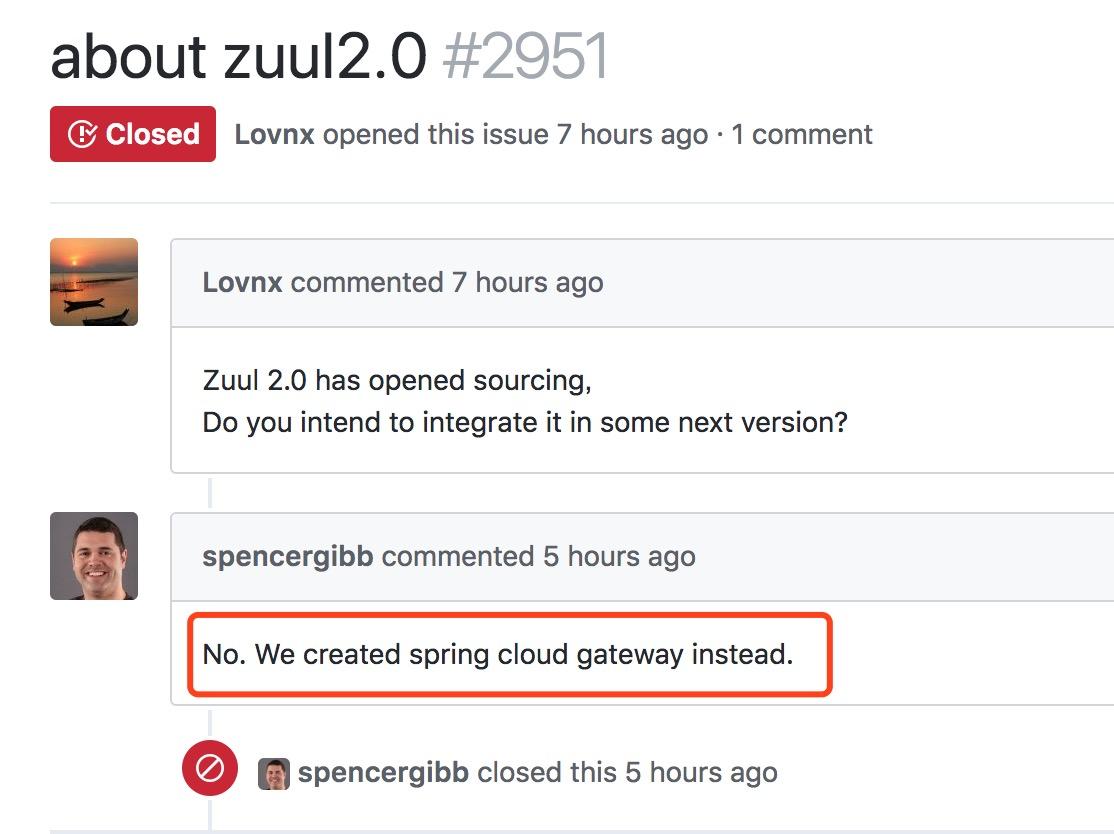 zuul2开源了,但是Spring官方不会集成! - Spring Cloud中国社区